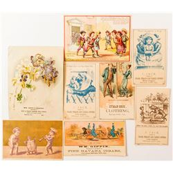 Motherlode Region Trade Cards
