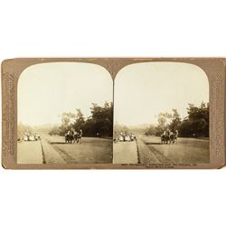 Rare Stereoview of the Speedway at Golden Gate Park