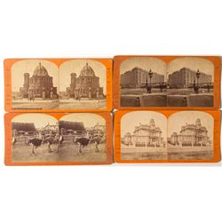 Interesting San Francisco Stereoviews by J.J. Reilly, c.1880s