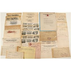 So Cal Bill & Letterhead Collection