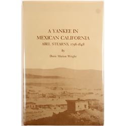 Book, A Yankee in Mexican California