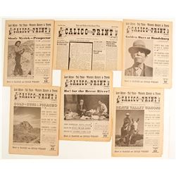 Calico Print Ghost Town Newspapers (6)