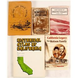 California History (5 Books)