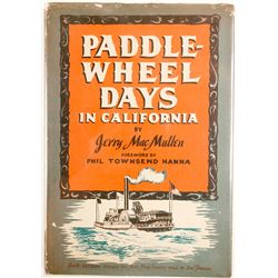 Paddle-Wheel Days in California (Hardback book)