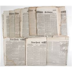 Custer's Expedition to the Black Hills, 1874-5, Newspaper Articles