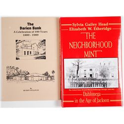 The Darien Bank 1889-1989 (Book) Plus Dahlonega Mint Book