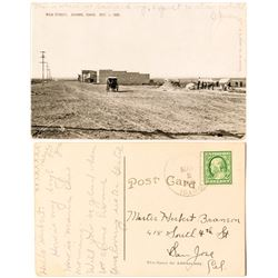 Amazing Jerome, Idaho Postcard