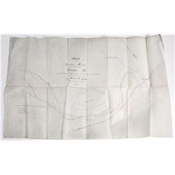 Sketch Map of Missouri River by Corp. of Engineers