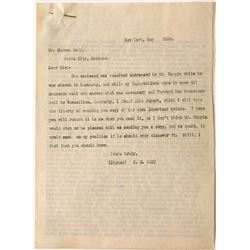 """Letter to Marcus Daily Concerning """"40 Bruckner Furnaces"""" (typed 6 pages)"""