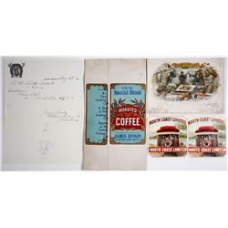 Montana Advertising Items and Correspondence