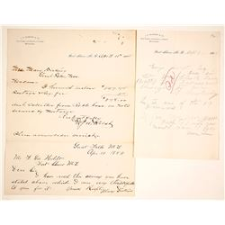 Letter from J.H. McKnight & Co., Post & Indian Trader