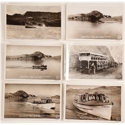 Real Photo Postcards of Boulder Dam
