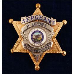 Eureka County, NV Sergeant Badge