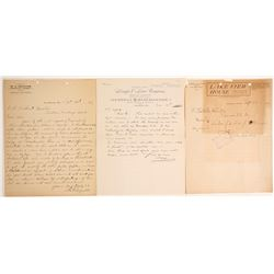 Letters from Stores in Hawthorne Nevada