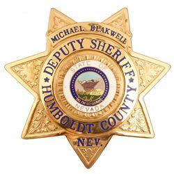 Humboldt County, NV Deputy Sheriff Badge
