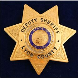 Lyon County, NV Deputy Sheriff Badge