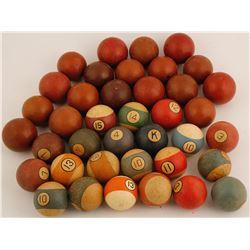 McGill Club, NV Antiques Poolballs