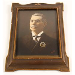 Portrait of Tonopah Constable w/ Badge