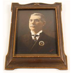Portrait of Tonopah Constable w/ Badge