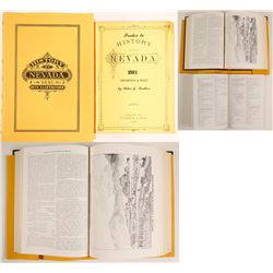 History of Nevada 1881 Reprint & Index to History of Nevada