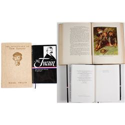 2 Hardcover books by Mark Twain