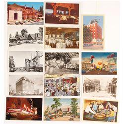 12 Vintage Nevada Postcards