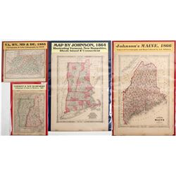 Maps of North East Region of U.S. (4)