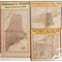 Maps of New England & New York
