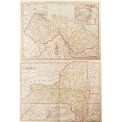 Maps of New York & New Jersey