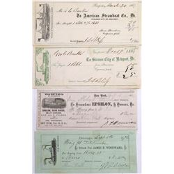 Pictorial Eastern Steamer Receipts