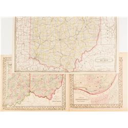 Maps of Ohio & Indiana