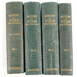 History of Utah Since Statehood (4 Volumes)