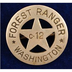 State Of WA Forest Ranger Badge