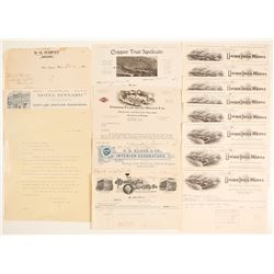Washington Letterheads