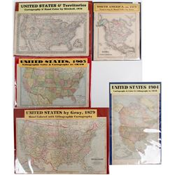U.S. Collection of 5 Maps