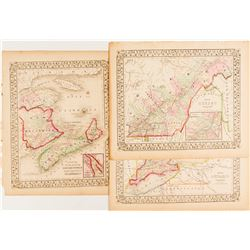 Maps of Counties of Nova Scotia/New Brunswick