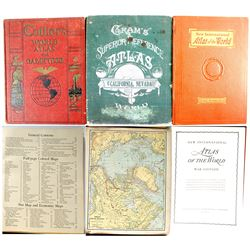 3 Old World Atlases