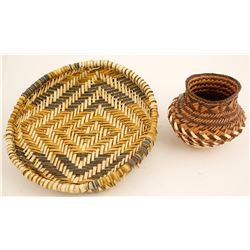 Two Native Baskets