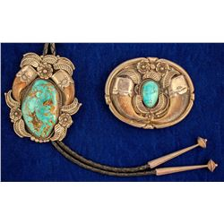 Turquoise and Bear Claw Jewelry