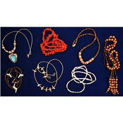 Six Native Necklaces