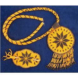 Lakota Sioux Beaded Pieces