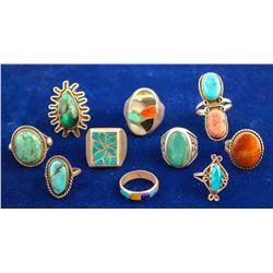 Vintage Native American Rings