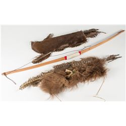 Two Quivers and a Bow