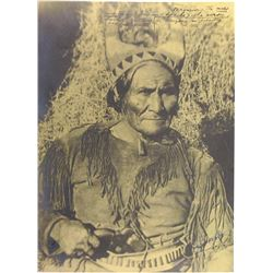 Geronimo Portrait Photograph by Tod Powell