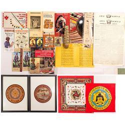 Cherokee Nation Ephemera
