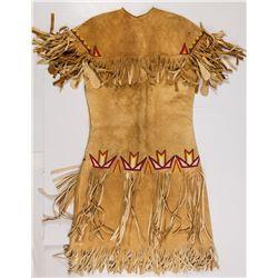Paiute Beaded Buckskin Dress
