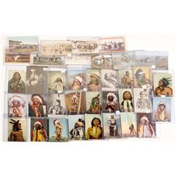 Native American Photo and Post Card Collection