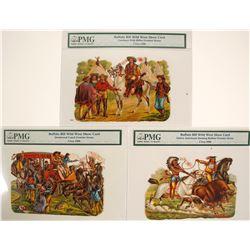 Die Cuts Buffalo Bill Wild West Show Card (3)