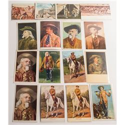 Buffalo Bill Postcard Collection