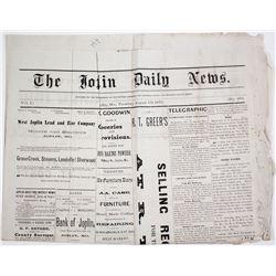 Newspaper: Wild Bill Hickock Murdered in Saloon